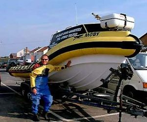 Graham and his boat